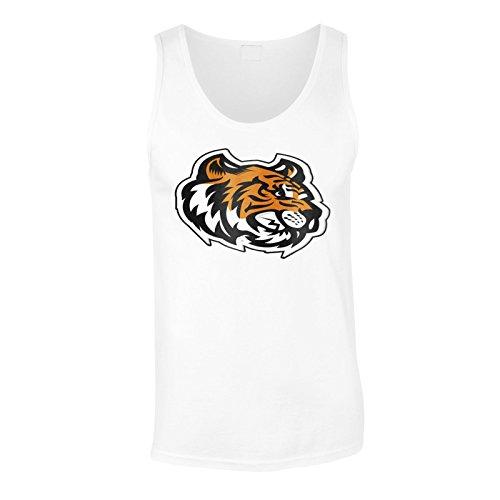 (Tiger Kopf Maskottchen-Logo Herren Tank top u621mt)