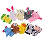 Set of Animal Finger Puppets