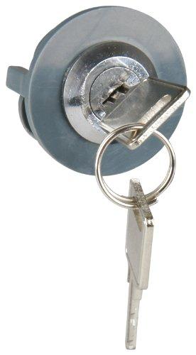 UNITEC 40207 Steckdosenschloss für Schutzkontakt-Steckdose