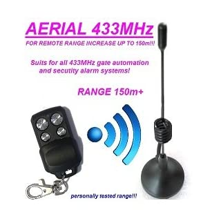 Antenna for Alarm system remote controls 433Mhz Distance Up to 150m