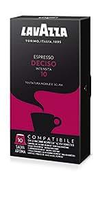 Lavazza Capsule Compatibili Nespresso Espresso Deciso - 10 confezioni da 10 capsule [100 capsule]