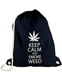 Turn Bolsa–Keep Calm and Smoke Weed–Chill Out Relax Hoja de Marihuana