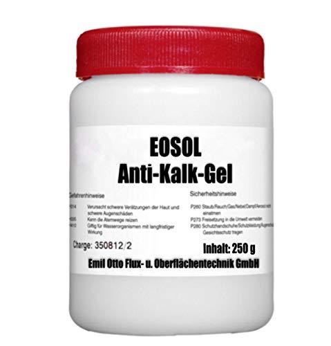 Emil Otto 250 g EOSOL Anti-Kalk-Gel -extrem wirksam u. ergiebig-, in Runddose mit Kindersicherung...