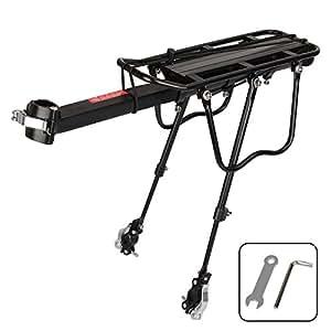 Mountain bike rack. Amarey adjustable bike rack made of