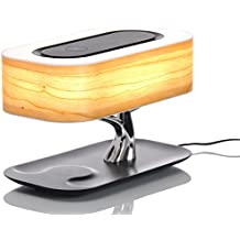 Lampe Arbre Luxe LED - Chargeur Qi sans fil induction smartphone pour iPhone 8,X, S8, S9, etc.