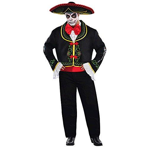 lloween hilft Day of The Dead Fancy Dress Party Kostüm ()