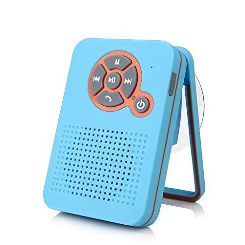 Lautsprecher mit Dual Treiber Bass und Saugnapf, portable kabellos Speaker Boombox für Hervorragender Klang & Bass ()
