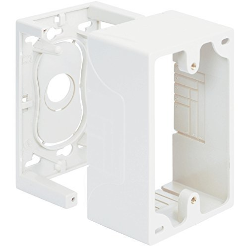 JUNCTION BOX, 1-GANG, WHITE by ICC Gang Junction Box