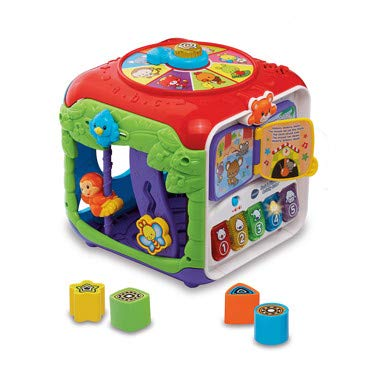 Vtech 80-183403 Sort and Discover Activity Cube, Multi