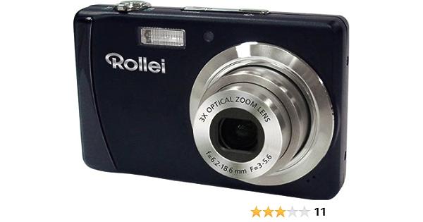 Rollei Compactline 102 Digitalkamera 2 7 Zoll Schwarz Kamera