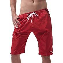 Luckycat Bañadores de natación Pantalones Cortos Hombres de Secado rápido Playa Surf Corriendo Pantalones Cortos de