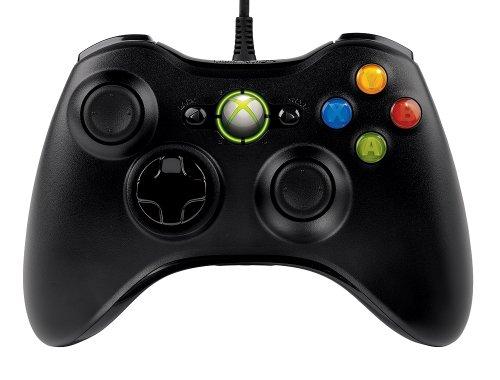 Microsoft Xbox 360 Controller Palanca de mando PC Negro - Volante/mando (Palanca de mando, PC, Alámbrico, 128 MB, 10 MB, 300 MHz)
