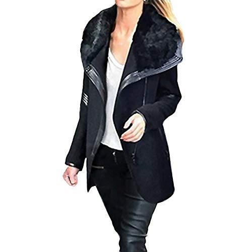 Tonsee  Manteau Femme, Nouvelle Mode Chaud Slim Veste Épaisse Parka Manteau Hiver Outwear Zipper Coat