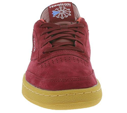 Reebok Herren Sneaker Club C 85 Indoor Sneakers Bordeaux