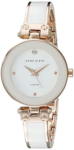 anne-klein-womens-ak-1980wtrg-diamond-accented-dial-white-and-rose-gold-tone-bangle-watch