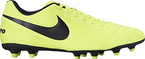 Nike Tiempo Rio Iii Fg, Chaussures de Running Entrainement Homme, 40.5 EU Jaune (Volt/black-volt)