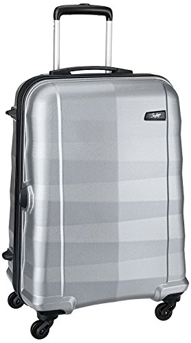 Skybags Auckland 56.1 cms Silver Hardsided Carry-On (AUCKL55ESMS)