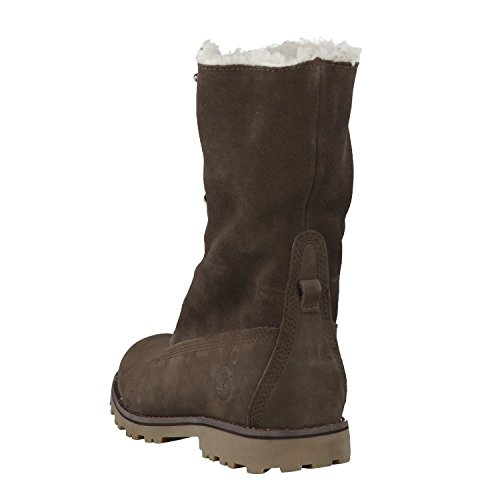 TIMBERLAND Shearling Chaussures d'hiver Femmes Marron A156Y Braun