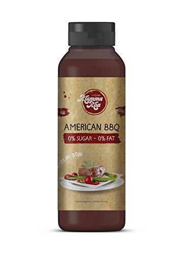 Leckere Barbecue Sauce ohne Kalorien für gesundes Kochen | Rauchige Low Carb BBQ Soße ohne Geschmacksverstärker, ohne Zucker & fettfrei | Leckere Smokey light Grill Soße von Mamma Mia – - Bbq Kochen