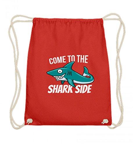 Hochwertige Baumwoll Gymsac - Come To The Shark Side - Für Hai-Fans und alle, die das Meer und gefährliche Fische lieben (Designs Gefährlich T-shirts)