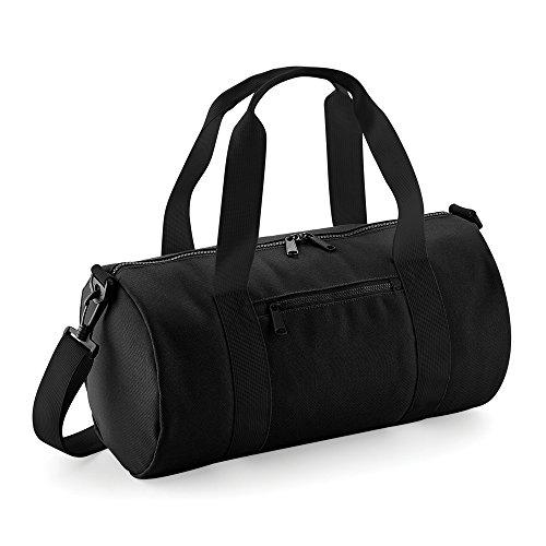 Bagbase Mini Sporttasche Schwarz/Fuchsia