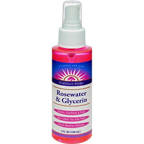 Price comparison product image Pack of 1 x Heritage Products Rosewater and Glycerin Spray - 4 fl oz
