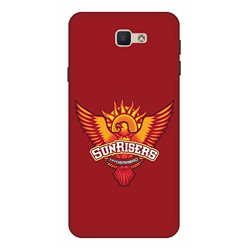 Samsung Galaxy J7 Prime Sunrisers Hyderabad Designer Mobile Back Cover by Wooo/ Sunrisers Hyderabad Design Printed Back Covers For Samsung Galaxy J7 Prime
