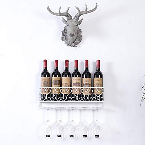 Willsego Einfache Moderne Wein weinschrank hängen Eisen weinregal invertiert wandregal kreative...