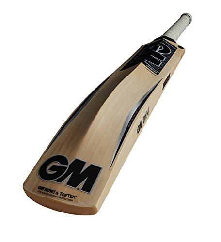 GM Chrome DXM 909 TTNOW Kricket-Schläger, Silber, Size SH