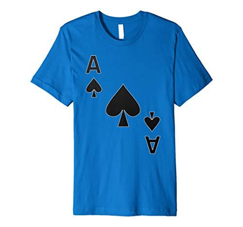 (Pik Ass Spielkarte Karten Spiel Kostüm | T-Shirt Geschenk)