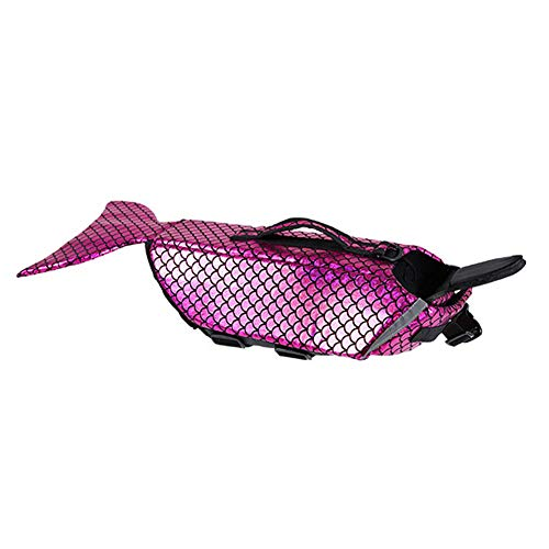 JHHXW PET Lifejackets Hund Schwimmweste großen Hund Profi-Schwimmen Kostüm Fisch ändern (Fisch Hund Kostüme)