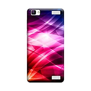 Skintice Designer Back Cover with direct 3D sublimation printing for Vivo V1 Max