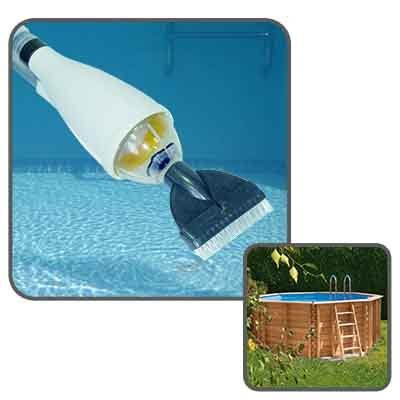 Linxor ® Swimming pool cleaner vacuum with telescopic handle -