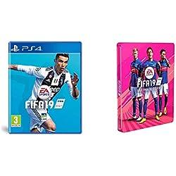 FIFA 19 (PS4) + Steelbook exclusif Amazon