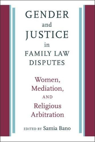 gender-and-justice-in-family-law-disputes-women-mediation-and-religious-arbitration-brandeis-series-