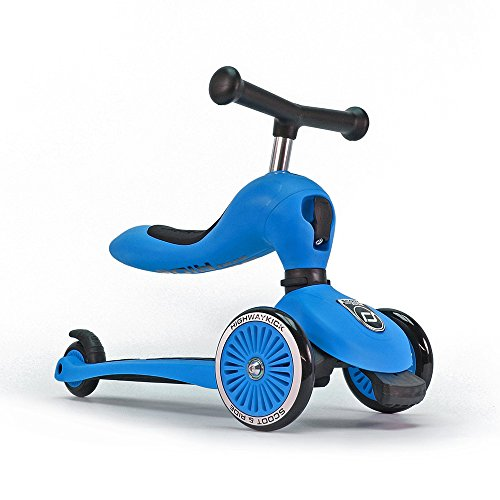 Scoot & Ride Highwaykick 1 - Blue - Scooter mit sitz