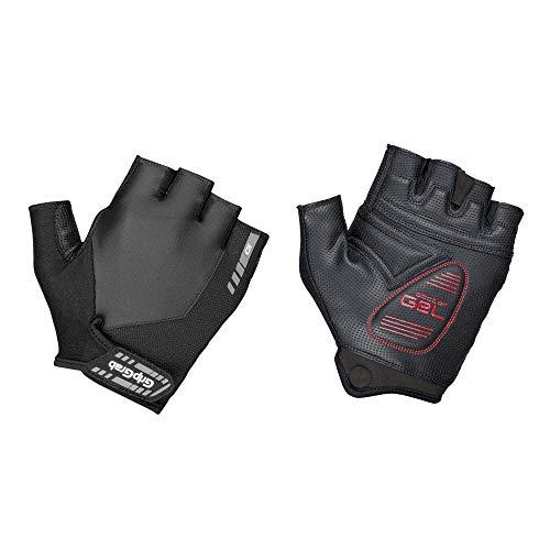 GripGrab ProGel Gepolsterter Kurzfinger Handschuh, Schwarz (Black), XS Schwarzen Handschuhen