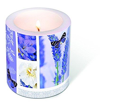 1vela Candle Dream Of Lavender Diámetro. 9cm/Altura 10cm, se envía en pantalla transparente