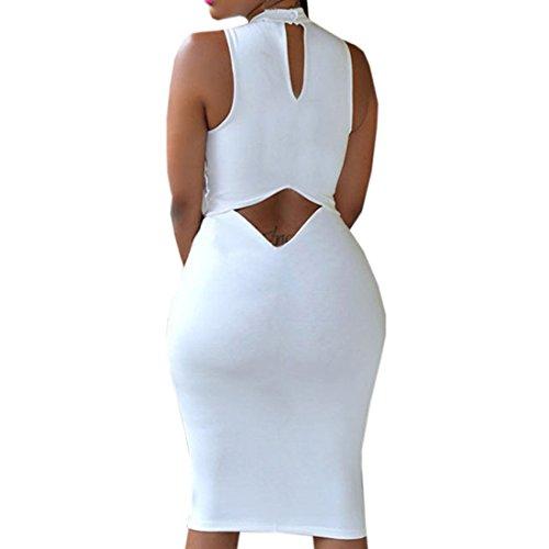 Partiss - Robe - Femme X-Large Blanc