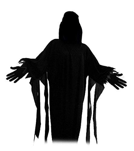 te Kostüm (Erwachsenengröße unisize bis ca. 188 Meter) für eigenen Verkleidungsideen und Masken - Edles Kostüm mit Kapuze - Einfach mit Maske nach Wunsch kombinieren und fertig ist die geniale Monster Gruselverkleidung (ohne Handschuhe) (Genial Einfache Halloween-kostüme Für Erwachsene)