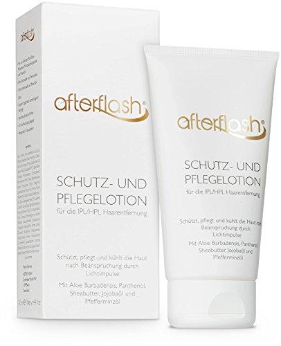 AfterFlash Schutz- und Pflegelotion für die IPL / HPL Haarentfernung