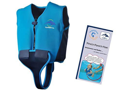 Lampiphant Schwimmweste 10J-Y-120 aus Neopren, Jugendliche, Größe: 8-10 Jahre, blau