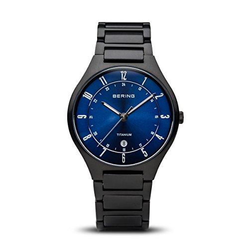 BERING Herren-Armbanduhr Analog Quarz Titan 11739-727