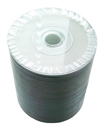 50 Bedruckbare Mini CD-R Rohlinge 8cm 200MB/22min MP-Pro Wide Inkjet Printable weiß für Tintenstrahldrucker