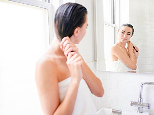 InstaNatural Wärmeschutz-Spray – Mit Bio-Arganöl – bestes Wärmeschutzmittel für Ihre Haare – Rizinusöl & Vitamin B5 – Verhindert Trockenheit, Schädigungen & Spliss – 240 ml - 4