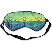 Sleep Eye Mask Deer Triangle Mountains Lightweight Soft Blindfold Adjustable Head Strap Eyeshade Travel Eyepatch E7 preisvergleich bei billige-tabletten.eu