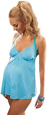 Traje de Una Pieza de Maternidad con Copas Moldeadas para Mujeres Embarazadas