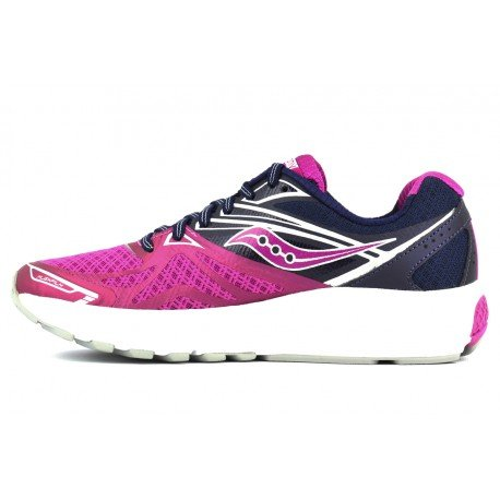 SAUCONY RIDE 9 Purple / Pink / Silver