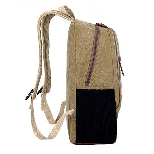 Mocha weir Laptop-Rucksack Buch Taschen Kinder Schule College Reiserucksack (tief blau) schwarz