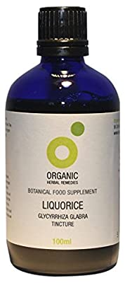 Organic Herbal Remedies 100 ml Liquorice Tincture by Organic Herbal Remedies